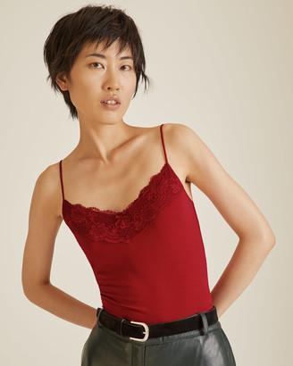 Jigsaw Modal Lace Vest