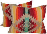 One Kings Lane Vintage Pendleton Camp Blanket Pillows