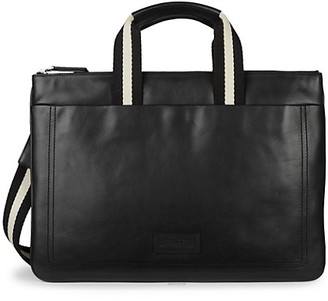 Bally Tigan Leather Business Bag