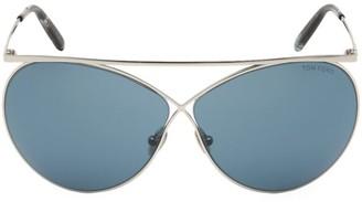Tom Ford Stevie 67MM Aviator Sunglasses