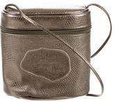 Carlos Falchi Metallic Karung Crossbody Bag