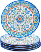 Certified International Tuscany Melamine Set of 6 Dinner Plates
