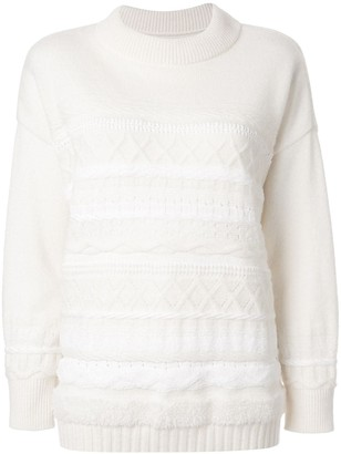 Coohem Solid Tweedy Knit Jumper