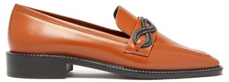 Fabrizio Viti - Forever Smooth-leather Loafers - Womens - Tan