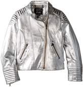 eve jnr Luxe Leather Jacket (Little Kids/Big Kids)