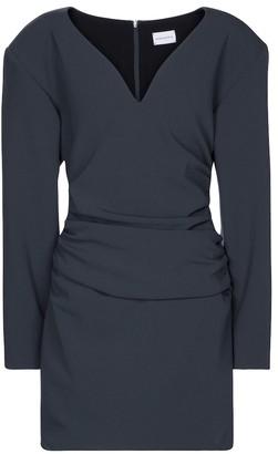 Magda Butrym Ruched stretch-wool minidress