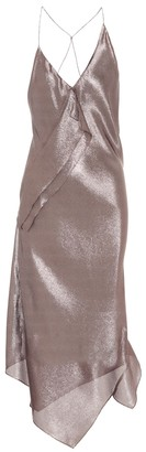 Roland Mouret Exclusive to Mytheresa Jimboy silk-blend asymmetric dress