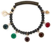 Sole Society Gemstone Charm Bracelet