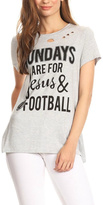 Blvd Jesus & Football Tee