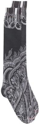 Etro Paisley-Print Socks