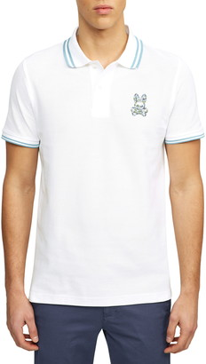 Psycho Bunny Paget Tipped Short Sleeve Pique Polo