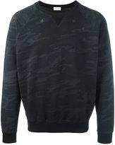 Saint Laurent camouflage sweatshirt - men - Cotton - M