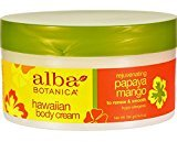 Alba Botanica, Papaya Mango Body Cream, 6.5 oz (180 g) by