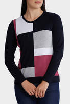 Colourblock Long Sleeve Jumper