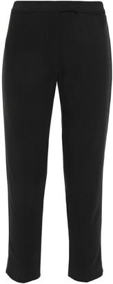 Ann Demeulemeester Cropped Twill Slim-leg Pants