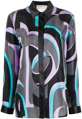 Emilio Pucci x Koche graphic print blouse