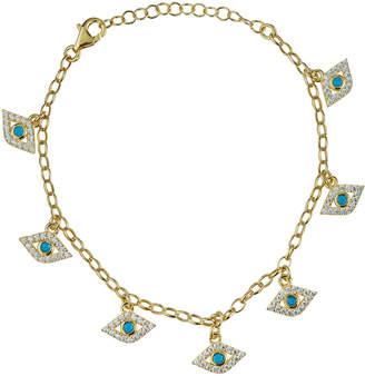 Sphera Milano Evil Eye Charm Bracelet