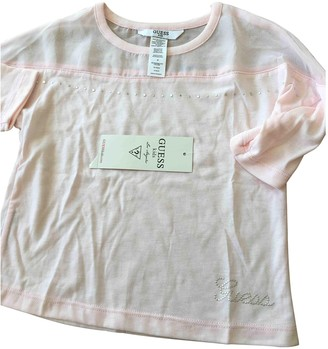 GUESS Pink Polyester Tops