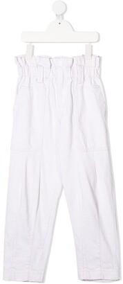 DKNY Loose-Cut Trousers