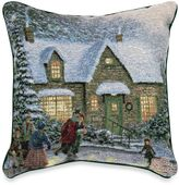 Thomas Laboratories Kinkade Skater's Pond Pillow