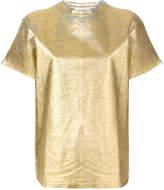 Golden Goose Deluxe Brand metallic distressed T-shirt
