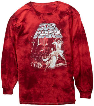 Star Wars Novelty T-Shirts Mens Crew Neck Long Sleeve Graphic T-Shirt