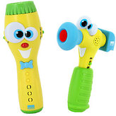 Kidz Delight Silly Sam Flashlight and Hammer Toy Combo