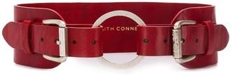 Faith Connexion Double Buckled Belt