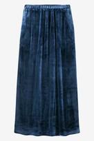 Toast Silk Velvet Skirt
