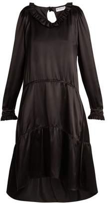 Balenciaga V-neck Dress - Womens - Black