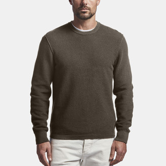 James Perse Cotton Cashmere Thermal Pullover