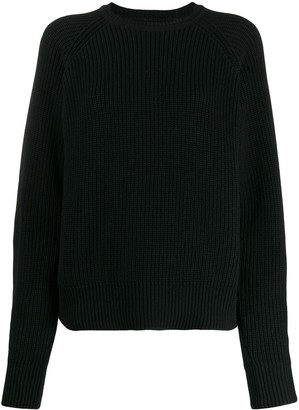 Mara Hoffman Avery ribbed crew neck jumper