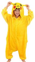 CLOHO Kid's Halloween Cosplay Costume Kigurumi Pajamas Tiger SleepWear