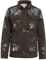 Miss Selfridge Summer jacket dark green