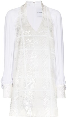 Halpern Sequinned Shift Dress