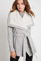 BCBGeneration Shawl-Collar Coat - Gray