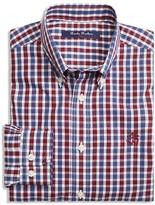 Brooks Brothers Boys' Non Iron Mini Tartan Shirt - Sizes 4-16