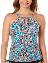 ST. JOHN'S BAY Paisley Tankini Swimsuit Top