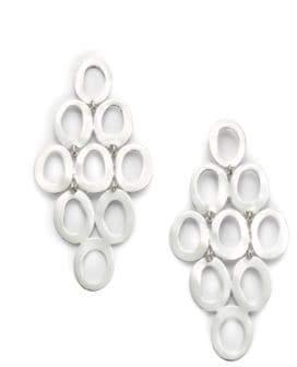 Ippolita Glamazon Sterling Silver Open Oval Cascade Earrings