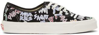 Vans Black Zodiac Pack OG Authentic LX Sneakers