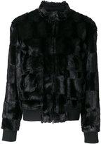 Steffen Schraut faux-fur jacket