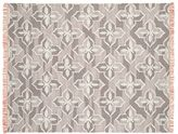 Pottery Barn Trina Rug - Gray/Orange