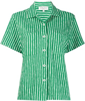 YMC Striped Organic Cotton Shirt