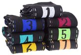 SODIAL(R) Novelty Daily Socks 7 Days Week Socks for Men (7 Pair/Set)Black