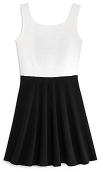 Aqua Girls' Bow-Back Dress, Big Kid - 100% Exclusive