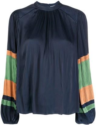 Ulla Johnson Rosa pleated loose-fit blouse