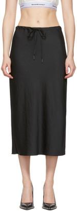 Alexander Wang Black Wash and Go Light Skirt