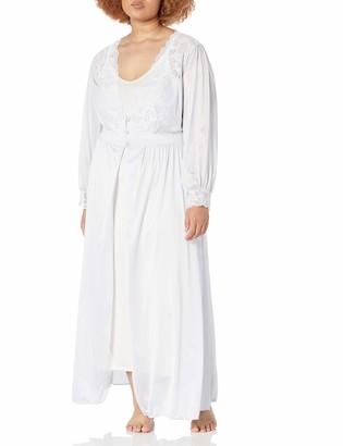 Shadowline Women's Silhouette 54 Inch Long Sleeve Coat