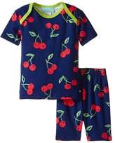 BedHead Kids Short Sleeve Two-Piece Shorts Set (Infant)