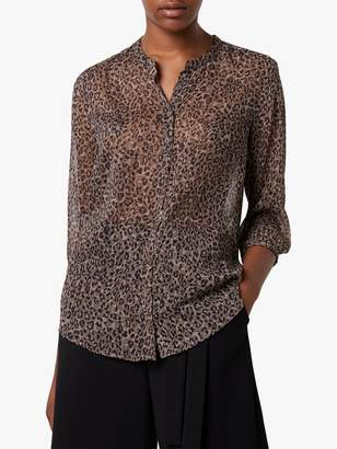 French Connection Brunella Crinkle Shirt, Sabbia